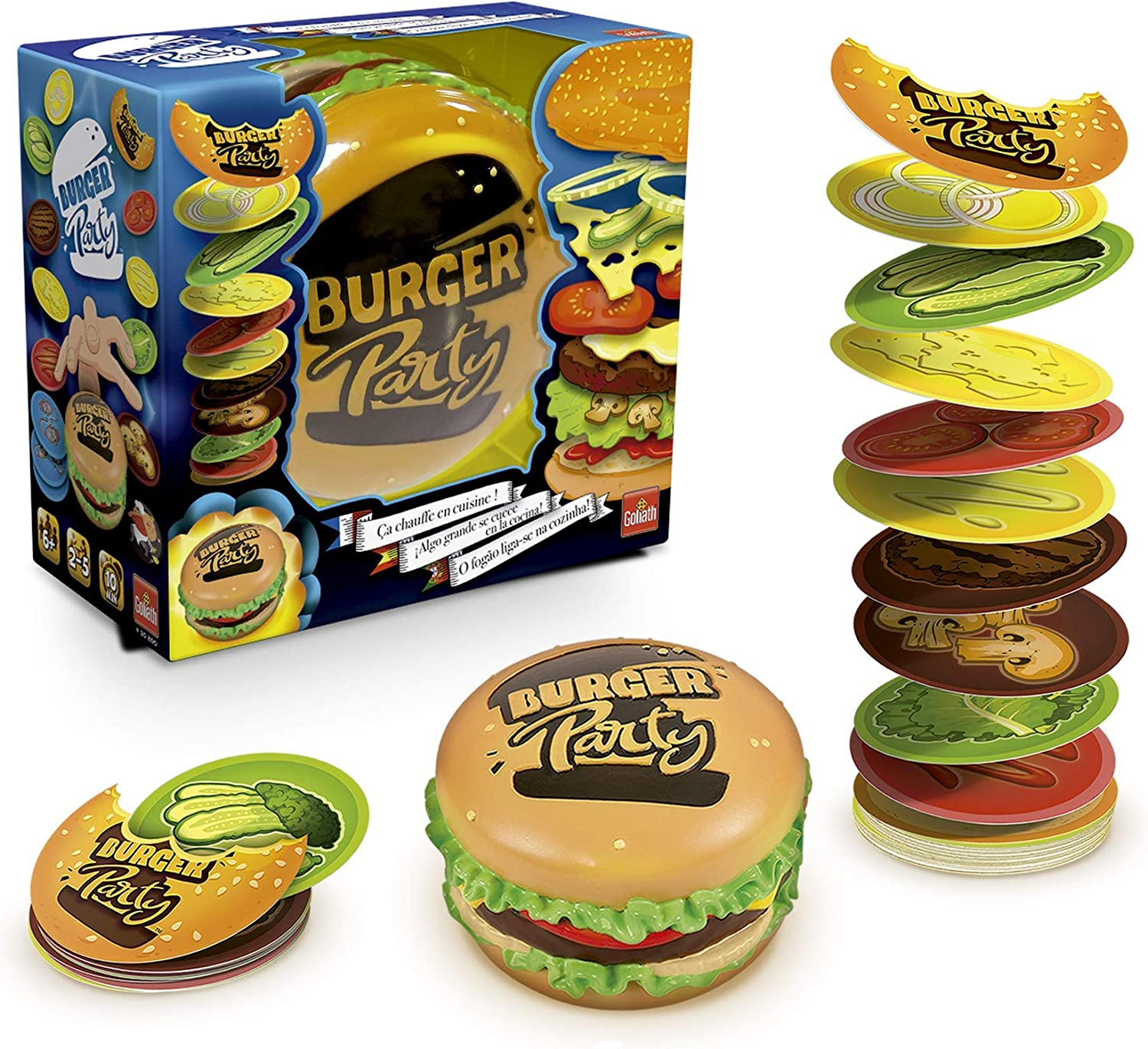 Burger Party - Juego de Cartas (Goliath 30890): Amazon.es ...