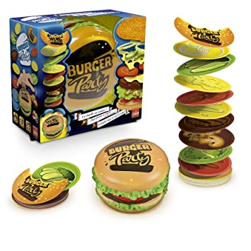 Burger Party - Juego de Cartas (Goliath 30890)