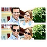 EYEGUARD Reading Glasses With A Magnetic Sunglasses