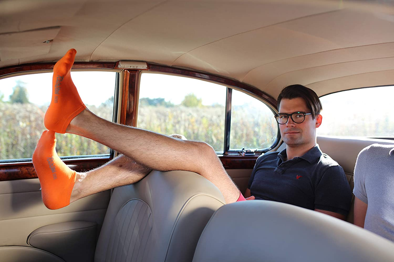 Rainbow Socks Donna Uomo Colorate Calzini Corti di Cotone