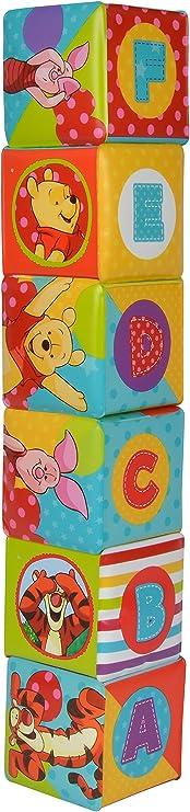 SIMBA 109331003 Disney Winnie The Pooh Morbido cubo batch 8 x 8 cm