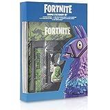 Fortnite Set Papelería Completo para Niños | Set de Papelería 12 Piezas, Material Escolar Edición Limitada Con Cuaderno…