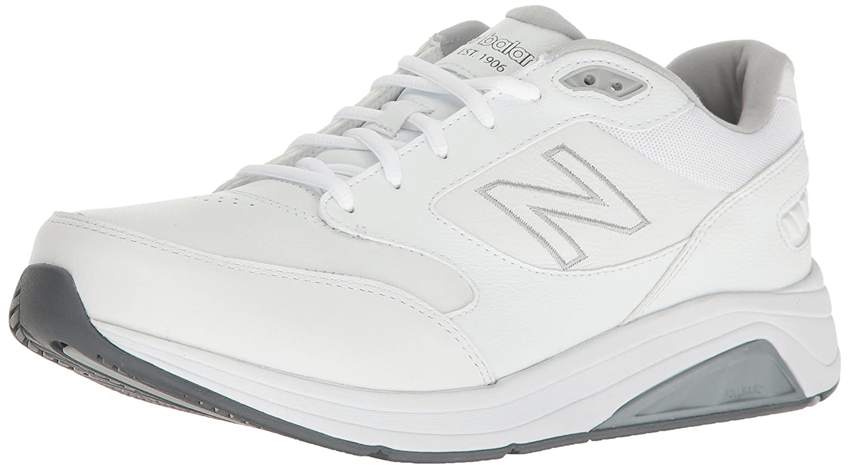 New Balance Men's Mens 928v3 Walking Shoe Walking Shoe 9.5 2E US|White/White