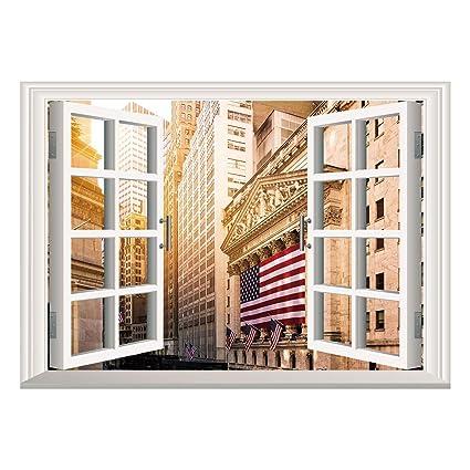 Amazoncom Scocici Wall Mural Window Frame Muralunited