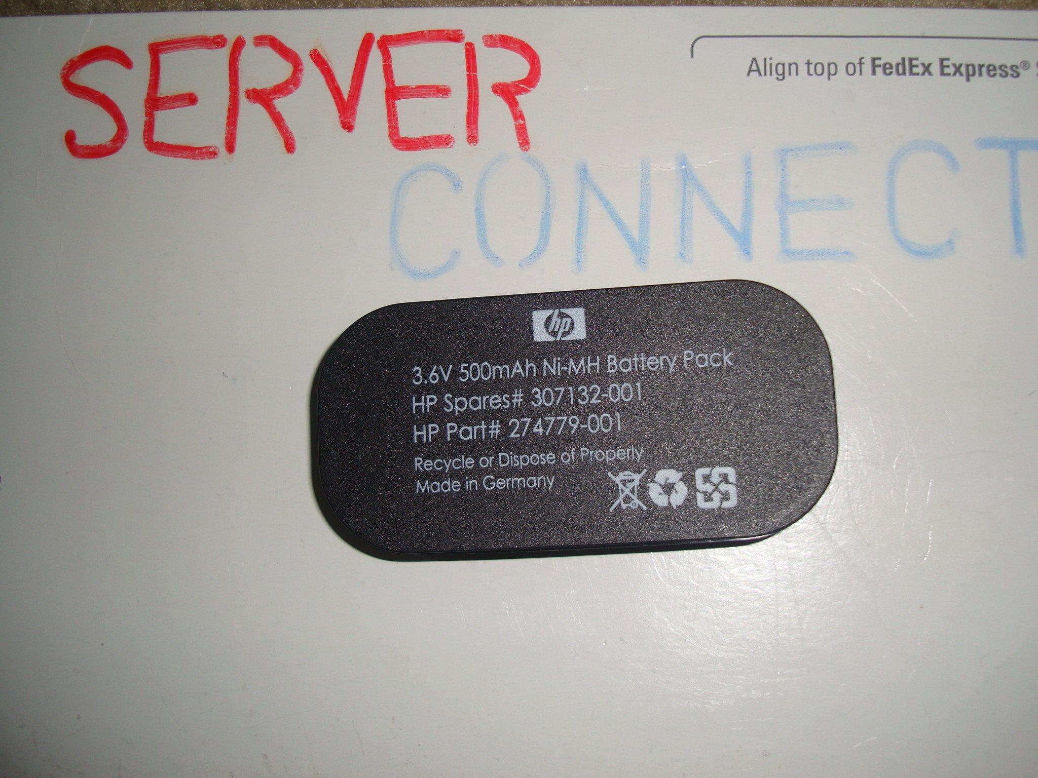 HP SMART ARRAY 6402/6404 BATTERY 307132-001 NEW F/S