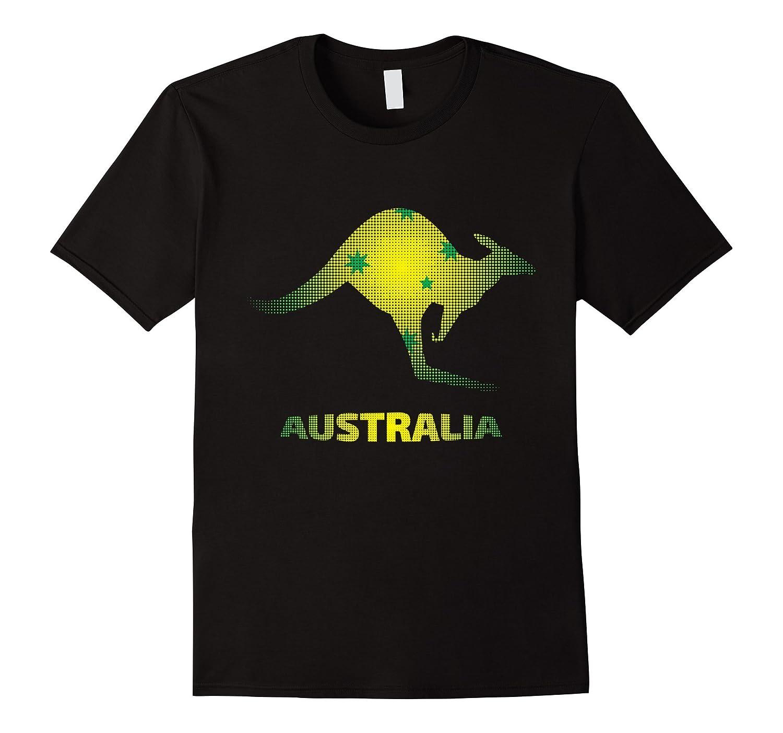 Australia Kangaroo Southern Cross T-Shirt-AZP