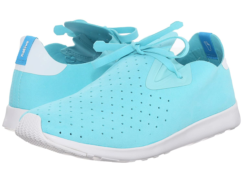 Native Unisex Apollo Moc Fashion Sneaker. B011PLLTGQ 6 B(M) US Women / 4 D(M) US Men|Cabo Blue/Shell White/Shell White