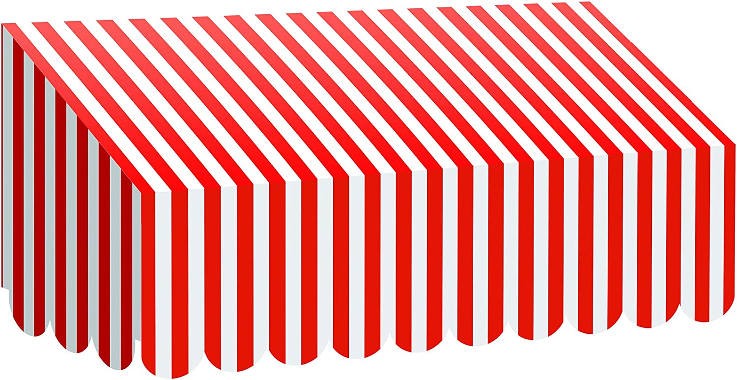 Teacher Created Resources Red and White Stripes Awning (77165)