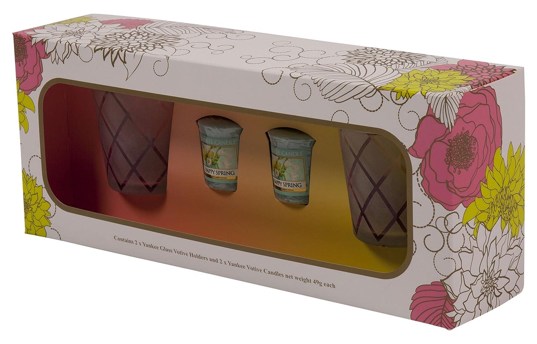 Yankee Candle Coffret Cadeau de 6 Bougies Votives, Cire, Multicolore 1561229