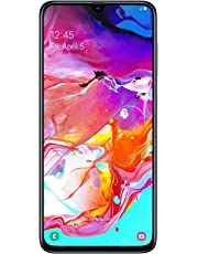 "Samsung Galaxy A70 (2019) Smartphone, Display 6.7"", 128 GB Espandibili, Dual Sim, Black [Versione Italiana]"