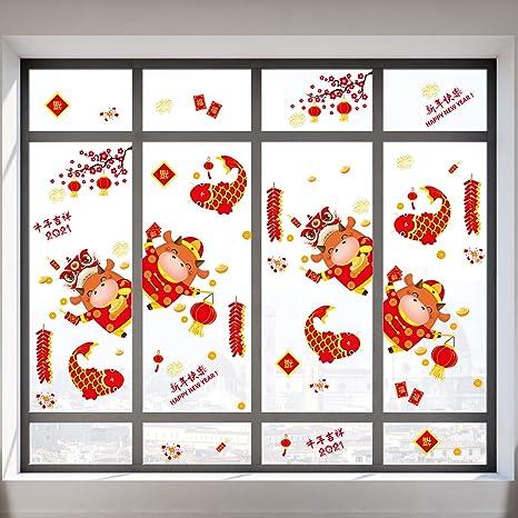 Home Shop Wall Sticker Decal Display Window Glass Decor PVC Vinyl Art Removable