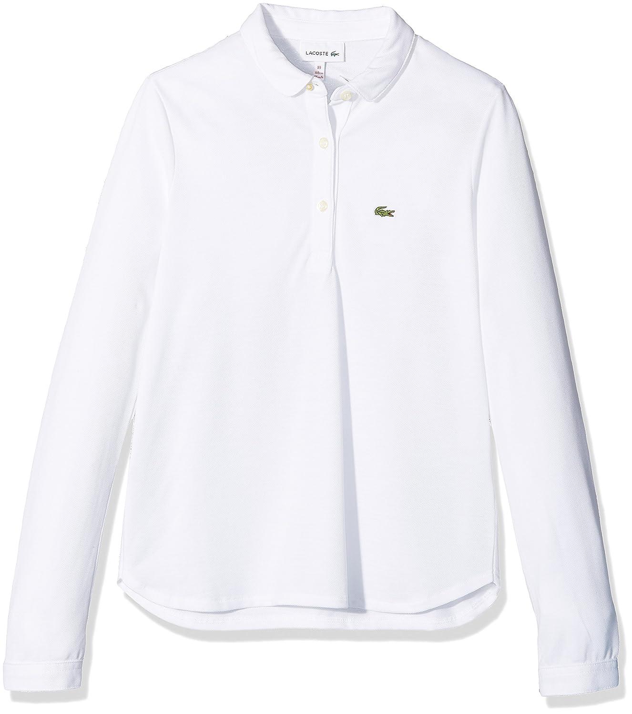 Lacoste Polo Bambina Lacoste Pj7456 Bianco (Blanc)