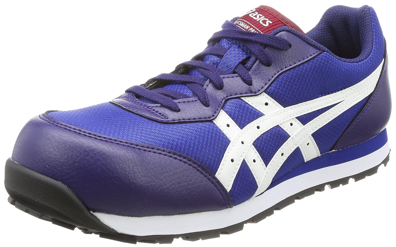 [アシックスワーキング] 安全靴/作業靴 作業靴 ウィンジョブ B074MCZMLG 23.0 cm|インディゴブルー/ホワイト インディゴブルー/ホワイト 23.0 cm