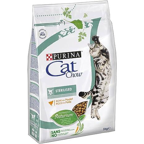 Purina Cat Chow Esterilizado Gato Adulto Pollo 4 x 3 Kg
