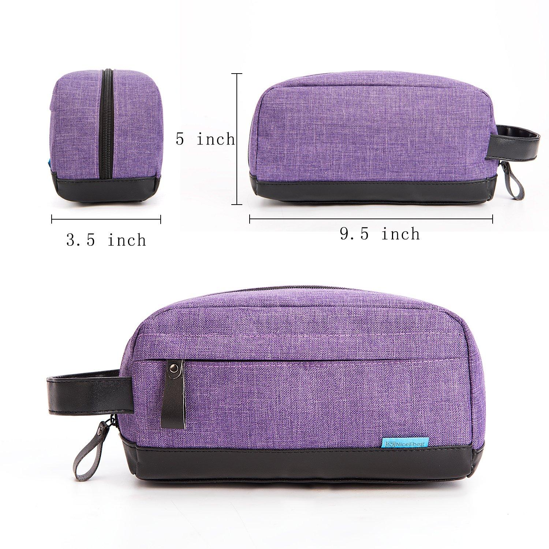848ca4c9b120 CoolBELL Toiletry Bag Travel Toiletry Organizer Portable Hanging  Water-resistant Makeup Bag Dopp Kit    Shaving Cosmetic ...