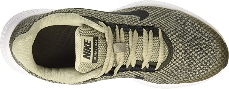 Nike RUNALLDAY, Zapatillas de Atletismo para Hombre, Multicolor (Spruce Fog/Black/Sequoia/White 300), 44.5 EU: Amazon.es: Zapatos y complementos