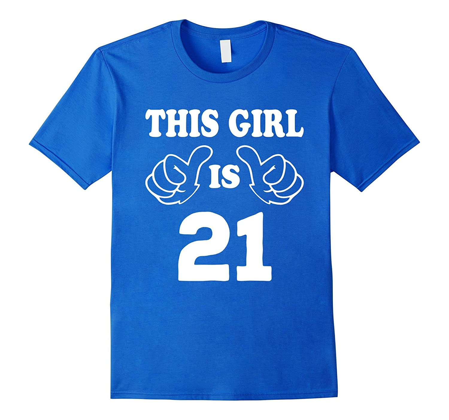 This Girl Is Twenty One 21 Years Old 21st Birthday Gift Idea TD