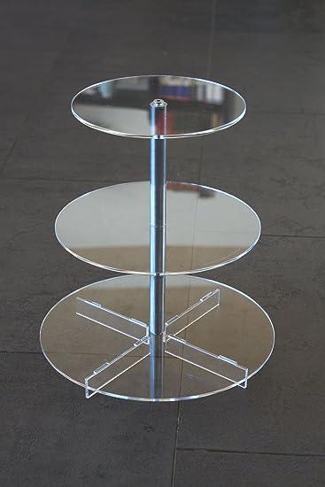 Tortenständer tortenständer tortenetagere aluminium 3 etagen