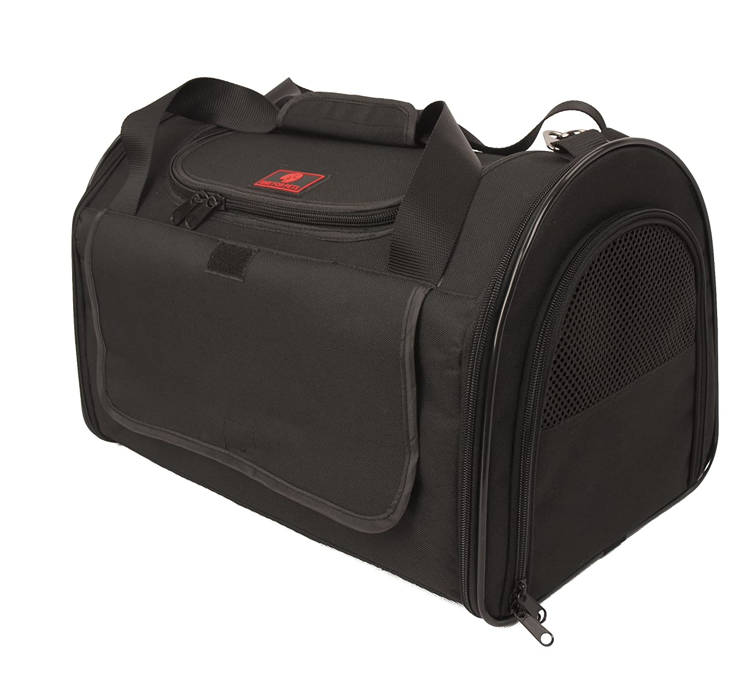 One for Pets Folding Carrier-The Dome-Extra Large-Black