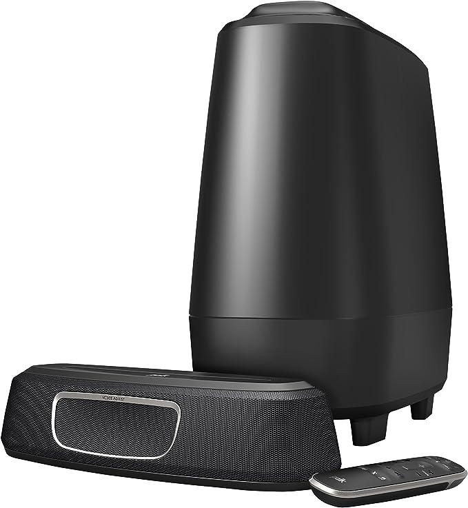 Polk Audio Magnifi Mini Heimkino System Kompakte Soundbar Mit Subwoofer 5 1 Dolby Digital Decoding Bluetooth Wlan Google Chromecast Hdmi Arc Aux Optischer Eingang Audio Hifi