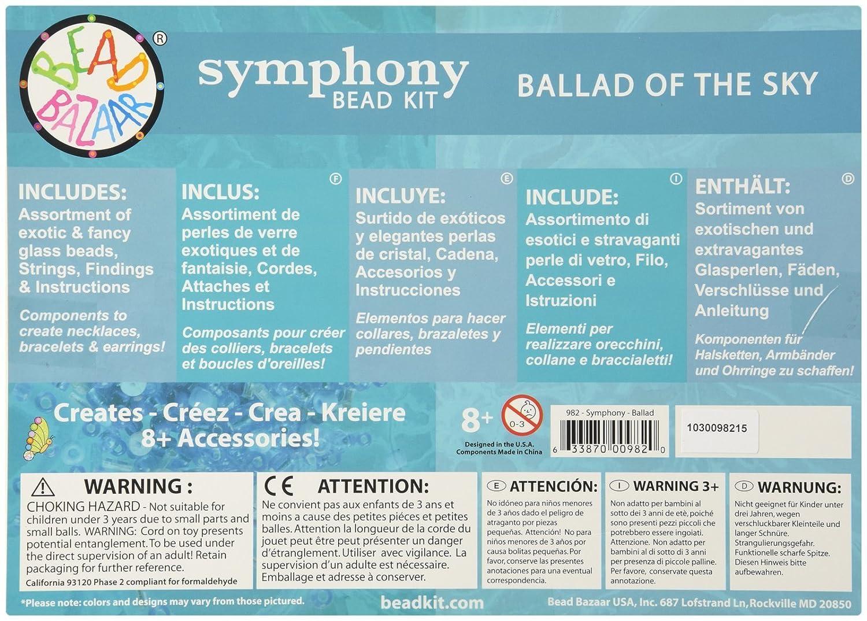 Ballad of The Sky Playset Bead Bazaar 982 Symphony Kit
