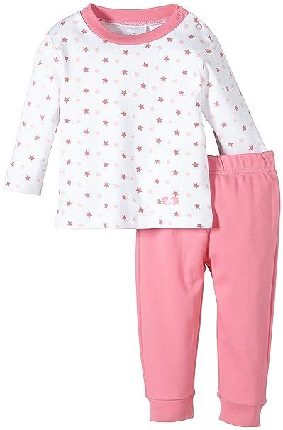 c01eb64ec7 Twins Baby - Mädchen Zweiteiliger Schlafanzug mit Oberteil, Rosa (morning  glory), 74