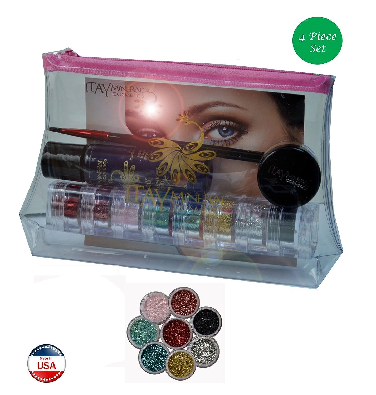 95b65c0a7b01 Amazon.com : Itay Mineral Cosmetics 8 Stack Eye Shadows in Paris ...