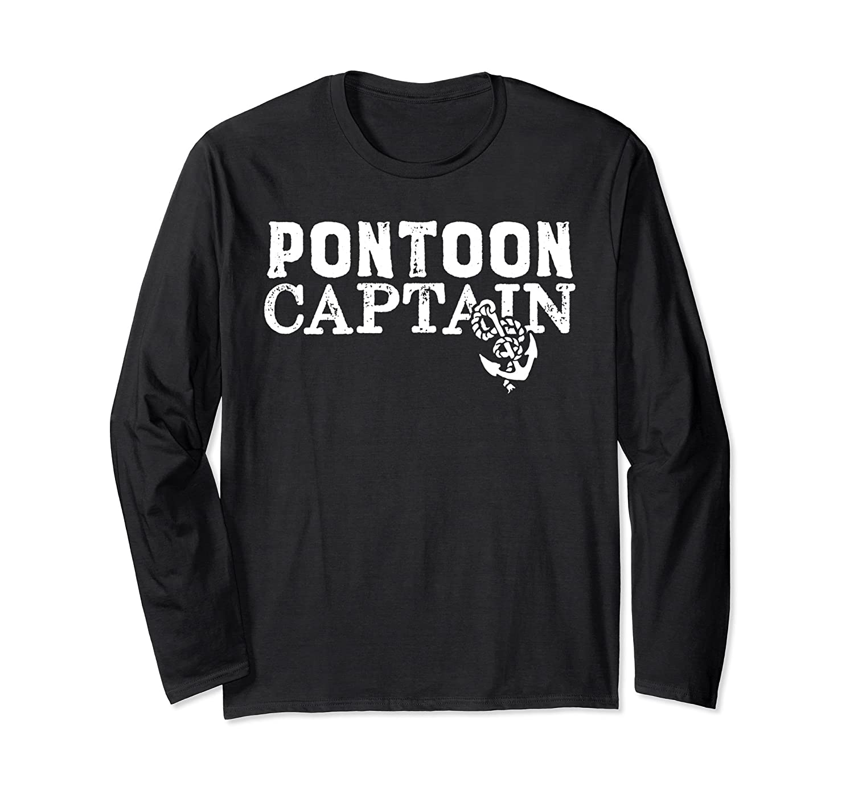 Pontoon Boat Shirts – Pontoon Captain with Anchor-Awarplus