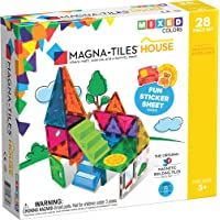 Magna-Tiles 18332 28-Piece House Set, The Original, Award-Winning Magnetic Building Creativity and Educational, STEM…