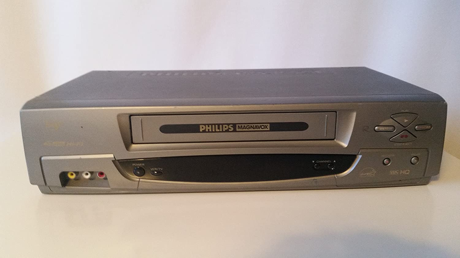 Philips Magnavox VRA431AT24 Video Cassette Recorder Player VCR 4 ...