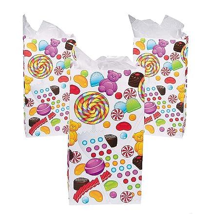 Amazon.com: 12 bolsas de dulces para dulces de dulces dulces ...