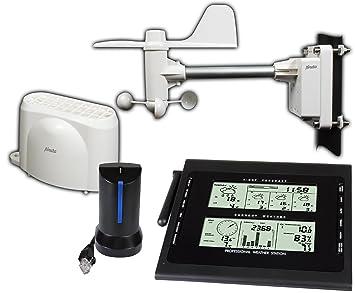 Alecto WS-4500 estación metereológica - Estación meteorológica (AA, 1,5V, Negro, Color Blanco)