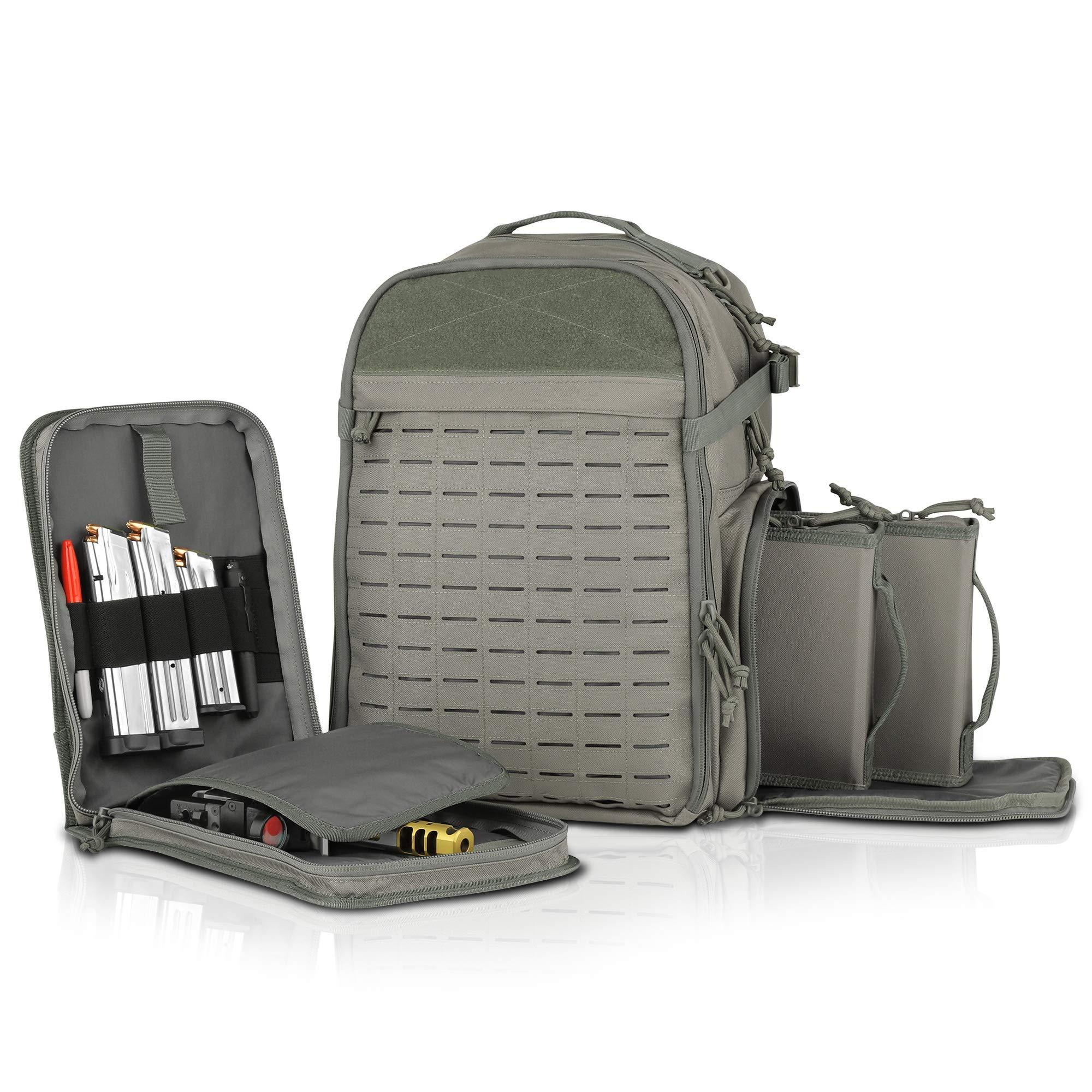 Savior Equipment Mobile Arsenal SEMA 27L Tactical Range Bag Backpack Pistol Case by Savior Equipment