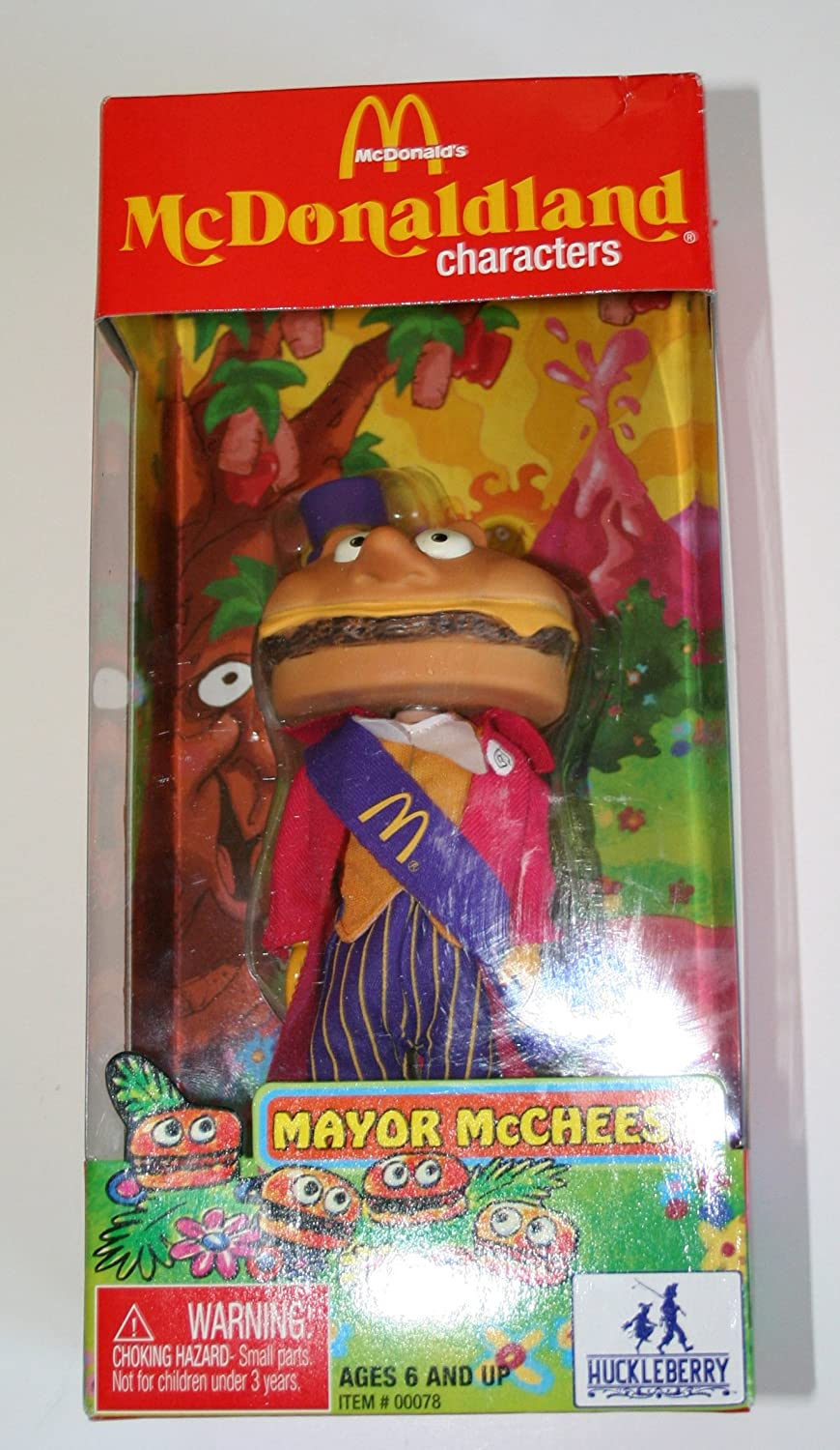 Amazon Com Mcdonald S Mcdonaldland Figure Mayor Mccheese Toys Games Mayor mccheese is the best. mcdonald s mcdonaldland figure mayor mccheese