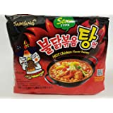 Samyang Bulldark Spicy Fried Chicken Roasted Ramen Noodles Stew Type (5 Packs)