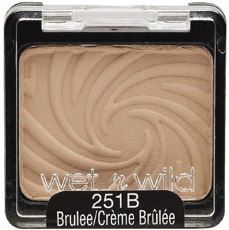Wet n Wild Color Icon Eyeshadow Single, Brulee 251B 0.06 oz Pack of 3