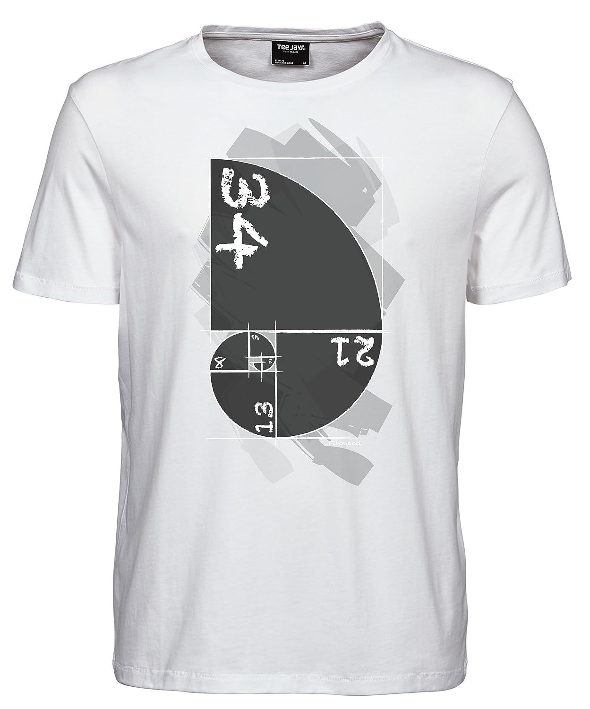 makato Herren T-Shirt Luxury Tee Fibonacci 5000001: Amazon.de: Bekleidung