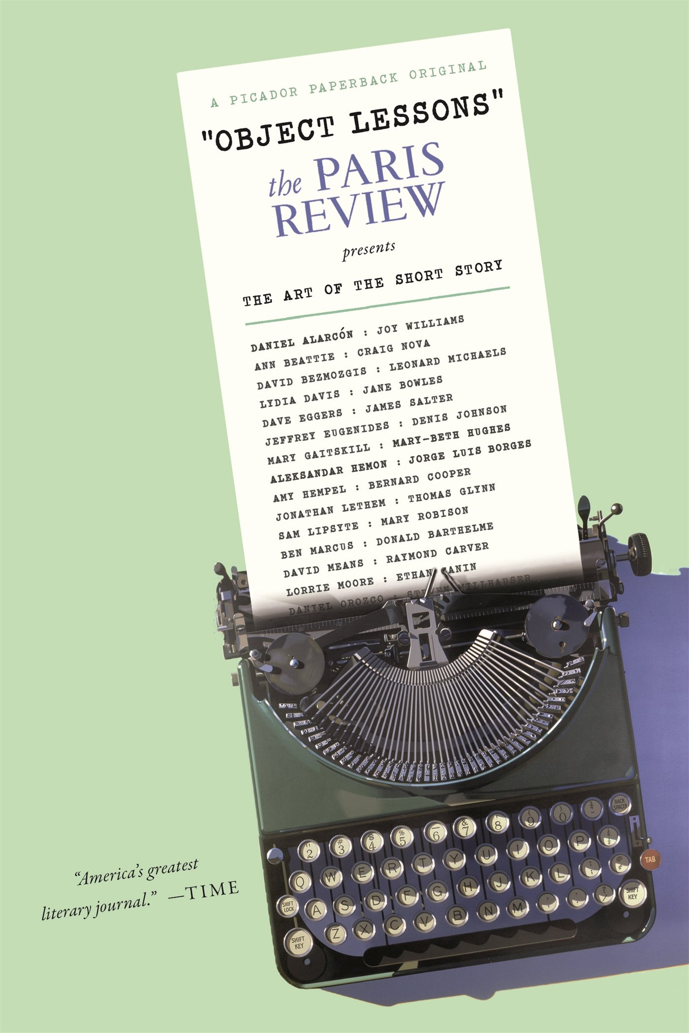 Download Object Lessons: The Paris Review Presents the Art of the Short Story pdf epub