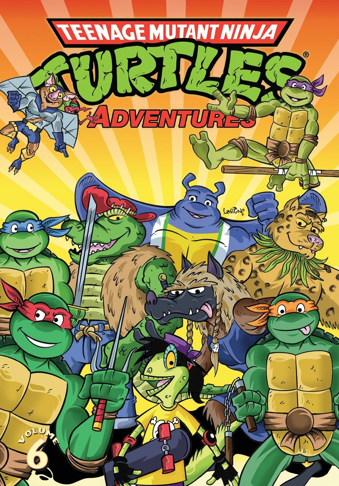 Teenage Mutant Ninja Turtles Adventures Volume 6: Amazon.es ...