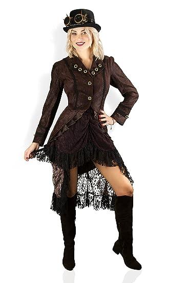 bieten Rabatte Shop für echte hübsch und bunt M&G Atelier Hochwertige Steampunk Damen Jacke Gothic Karnevalskostüm  Uniform Köln 36-50