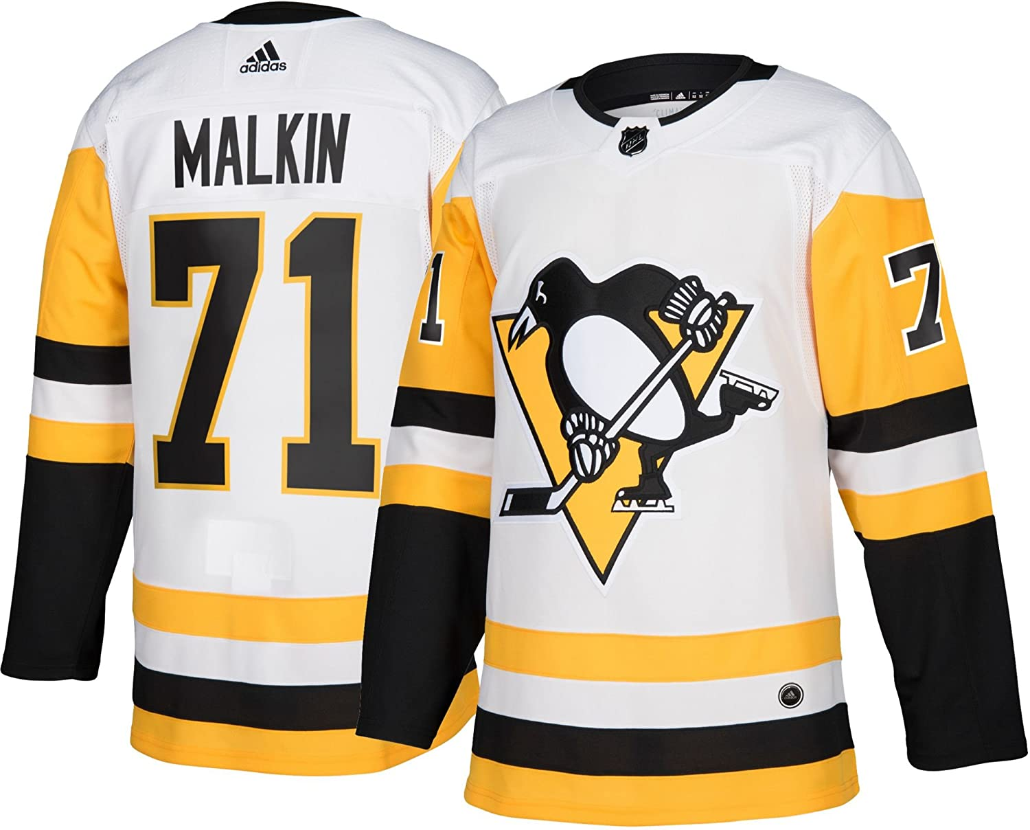 timeless design af2c1 92b8a Amazon.com : adidas Evgeni Malkin Pittsburgh Penguins ...