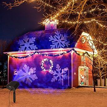 Luces de Proyector de Navidad,OxyLED Luces de Proyector Luz de ...