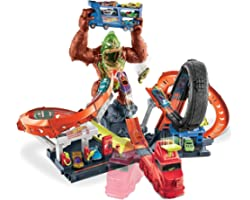 Pista Ataque Tóxico do Gorila Hot Wheels, GTT94, Mattel
