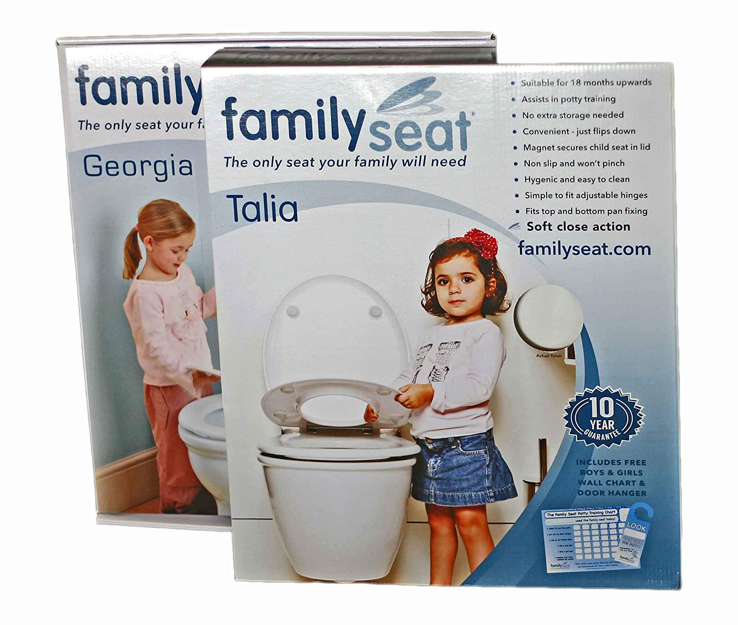 Georgia and Talia Family Seat Saver Pack