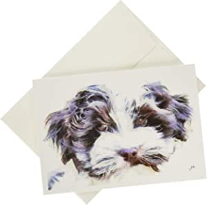 Havanese - Fideo - Set of 6 Notecards with Envelopes by Doggylips