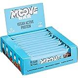 Moove Bar - Barrita Vegana de Proteínas - Sabor a Double brownie - (12 x 40g )