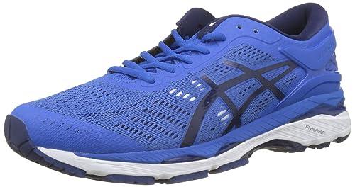 Asics Gel-Kayano 24, Zapatillas de Running Hombre, Azul (Bleu Victoria Blue/Indigo Blue/White 4549), 44 EU: Amazon.es: Zapatos y complementos