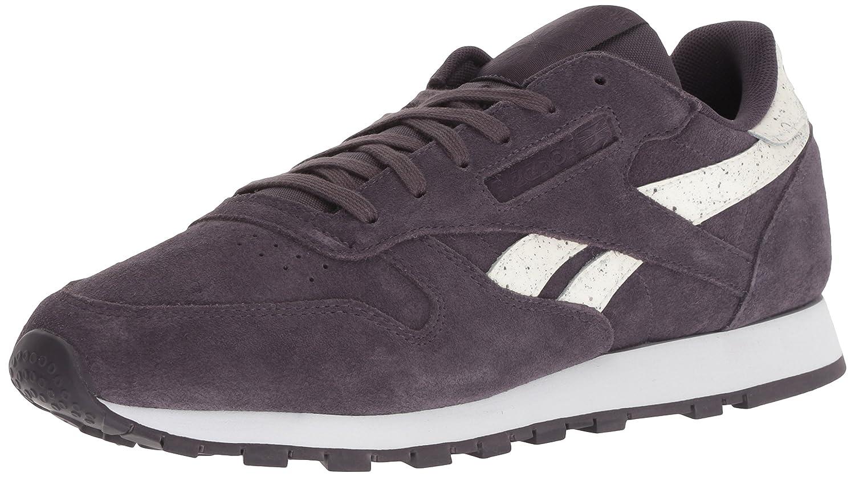 Reebok Classic Classic Classic Leder Sneaker Sidestripes -Smoky Volcan 680640
