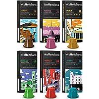 Nespresso-Compatibele capsules 60 - Il Caffè Italiano - Kit Tasting Ronde van Italië met diverse intensiteiten