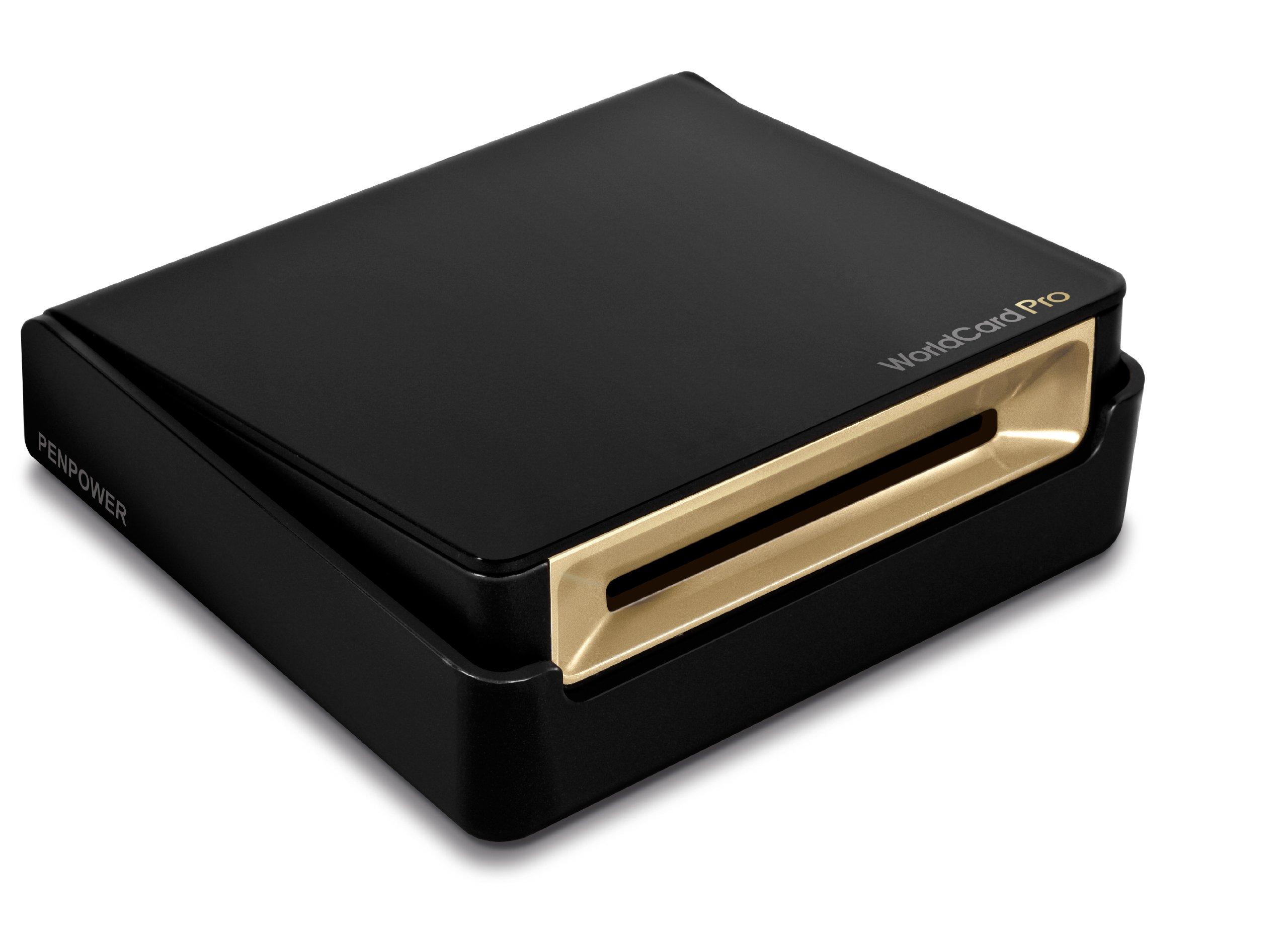 PenPower WorldCard Pro Business Card Scanner (Win/Mac) by PenPower
